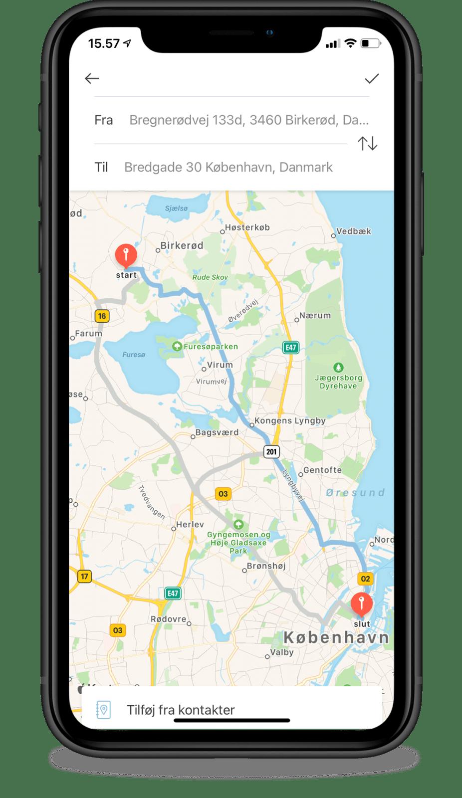 Acubiz app - Acubiz Mileage